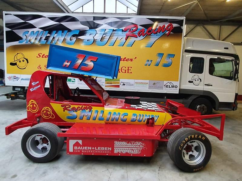 Nieuwe duozitter stockcar F1