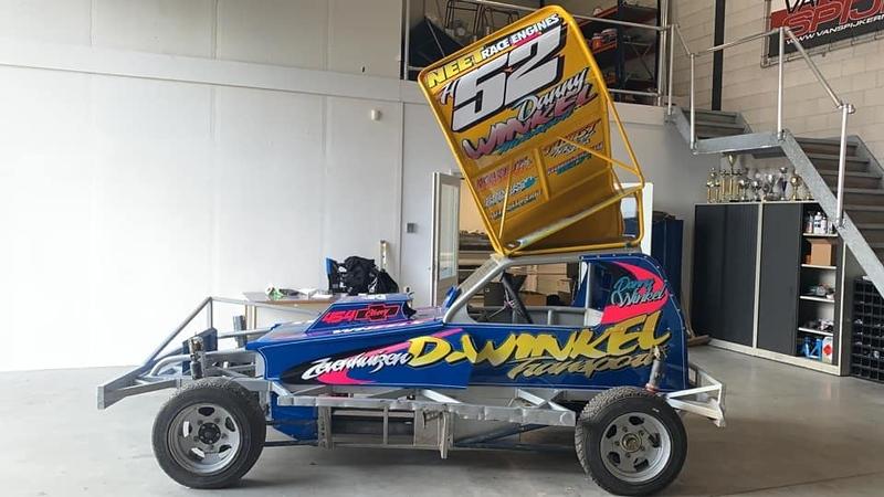 Nieuwe stockcar F1 Danny Winkel