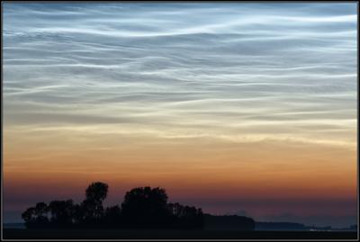 Lichtende nachtwolken/Noctilucent Cloud