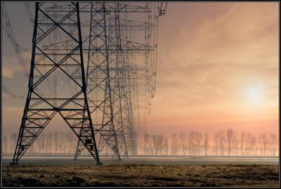Hoogspanningsmasten/Power pylon