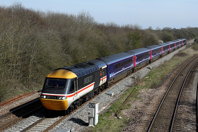 43185 leading on 1c80 1210 Reading to Paignton pass Fairwood Jn 26 March