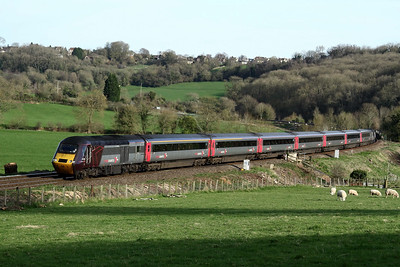 43384 leading 26 March at Freshford