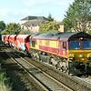 66089 6z84 1330 Avonmouth to Westbury pass Dursley Rd  6 Sept
