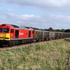 60091 7v16 1303 Fareham to Whatley pass Bapton 4 Oct