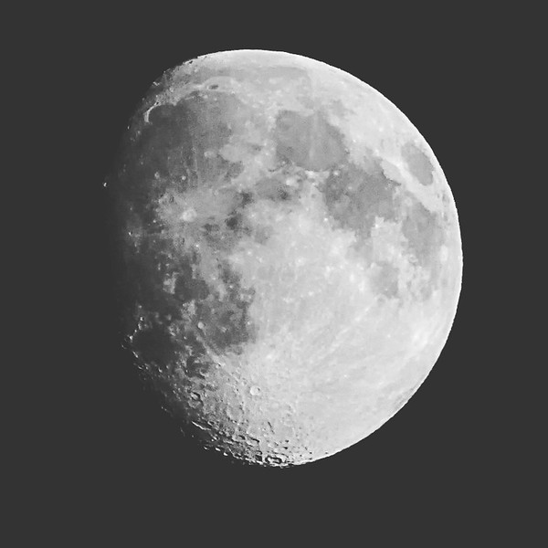 Last night's Moon