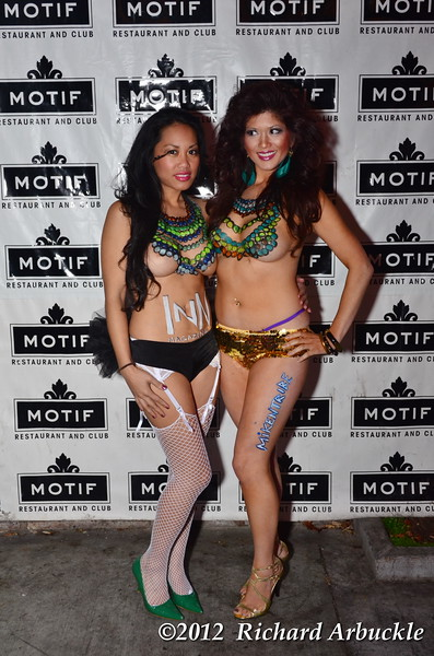 Fat Tuesday at MOFIT with Models 2 21 2012