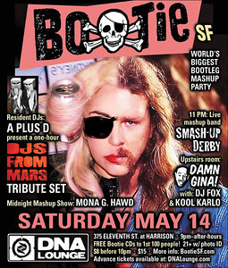 Bootie SF with DJ's From Mars Tribute - May 14th 2011 set 2