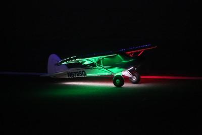 Night Flying at Quartzsite RC airport