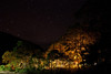 lights from a party in Waipio Valley