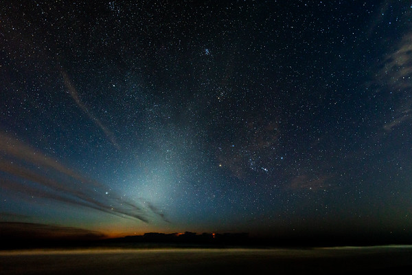 New Smyrna Beach Zodiacal Light