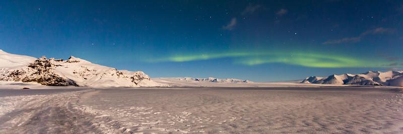 Fjallsárlón Aurora
