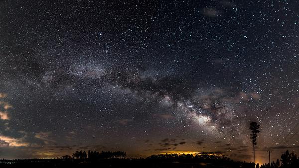 Okefenokee Swamp Park Road Milky Way