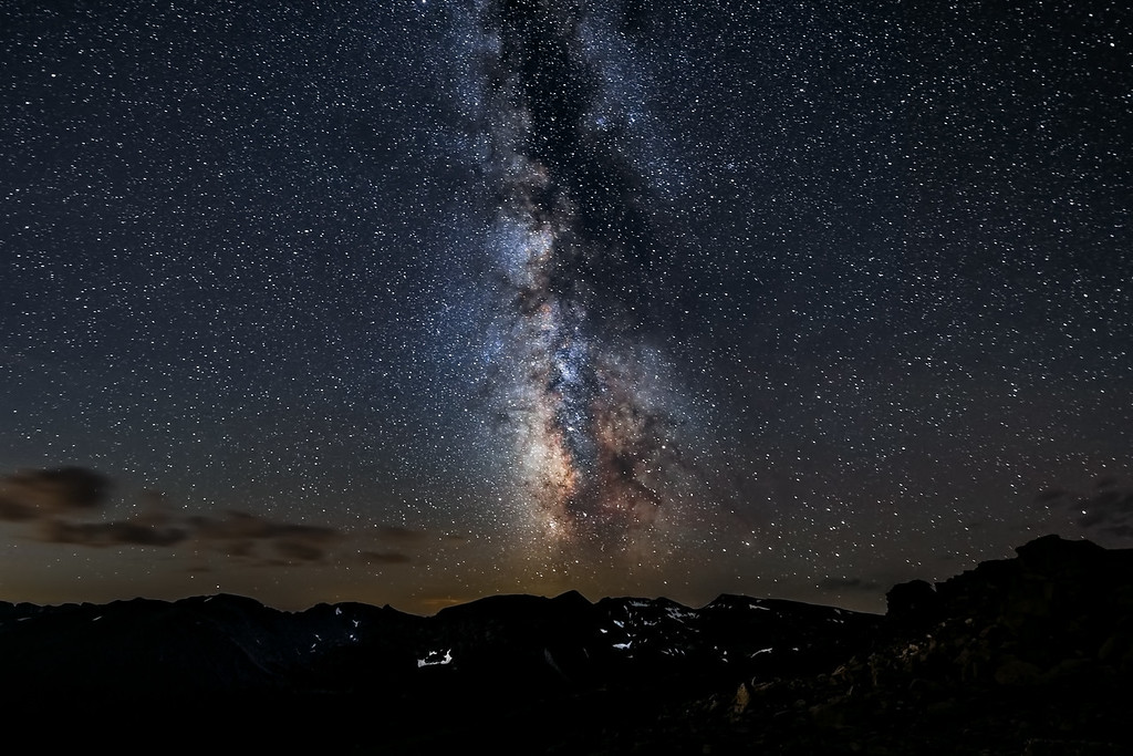 Milky Way over the Rockies