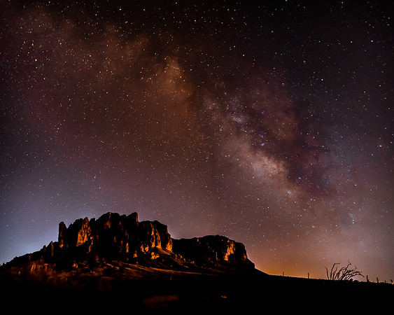 Milky Way Over Superstition