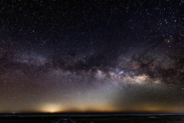 Confluence of Milky Way and Zodiacal Light