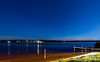 Lake Powell panorama with comet Neowise