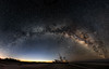 Early morning Milky Way panorama
