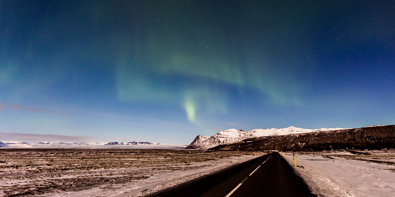 Skaftafell Aurora