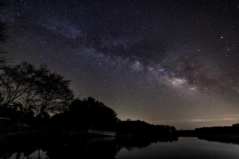 Milky Way over Boyle Murder Lake