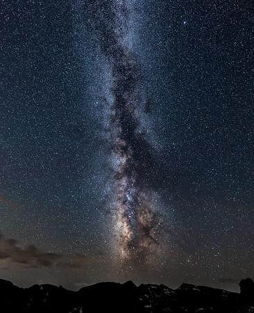 Rocky Mountain Milky Way Pillar