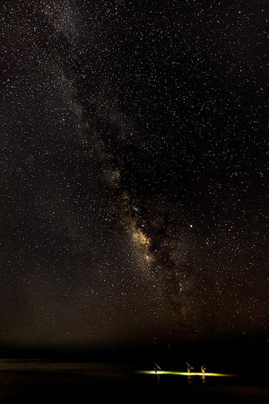 Crabbing by the Milky Way