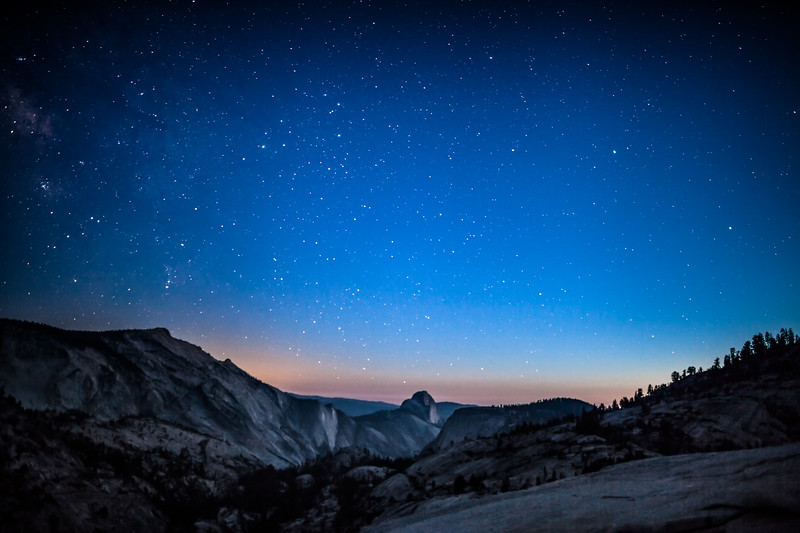 Twilight in Yosemite