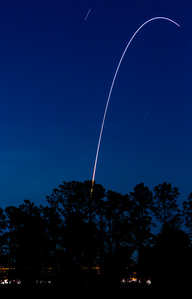 Blue Hour Launch
