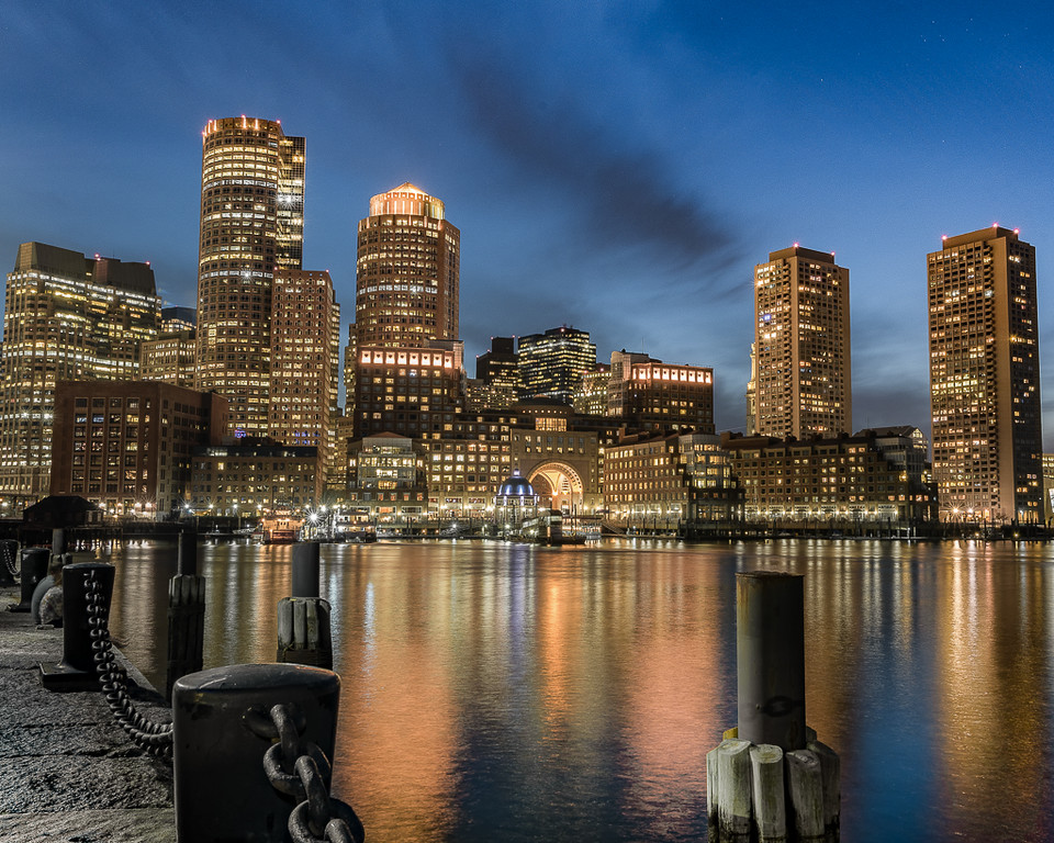 Boston Fan Pier and Rowes Wharf