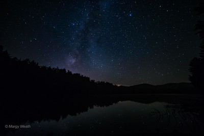 Vermont - Milky Way over Kent Pond