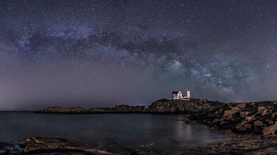 Nubble Light North Side