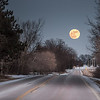 New Year Supermoon