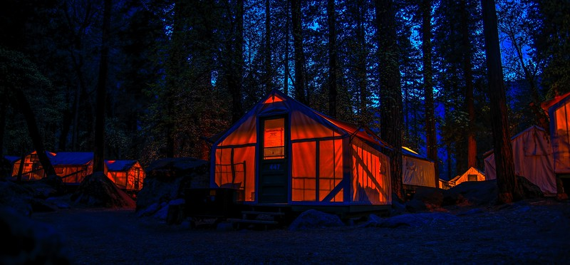 Warm Tents in Yosemite