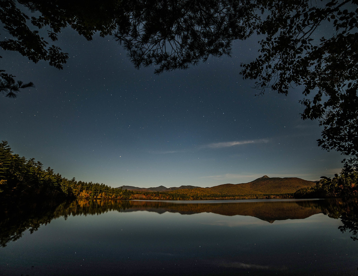Lake Chocorua Moonlight