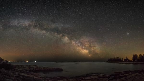 Milky Way at Reid State Park