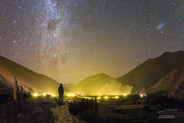 Light Pollution in the Elqui Valley