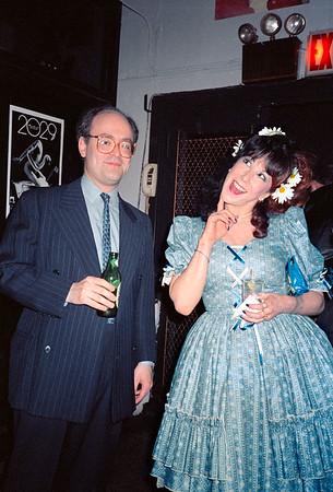 Leslie Barany & Diane Brandis' 2029 Magazine Presentation at Heartbreak, NYC, 1987