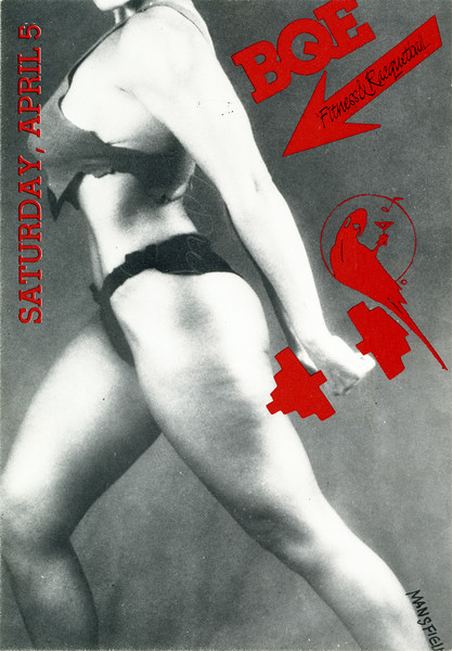 A Spring Workout at Red Parrot, NYC, 1986 - Invite Side 1