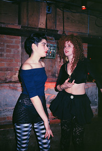 Deb Parker's Go-Go Adventurama at The Tunnel, NYC, 1987 - 24 of 25