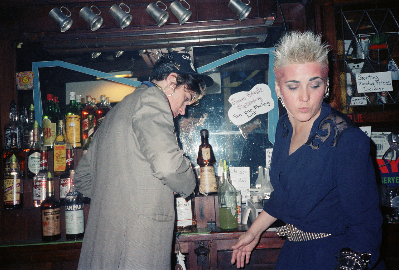 Mountaineer's Club at Vasmay Lounge, NYC, 1986 - 8 of 9