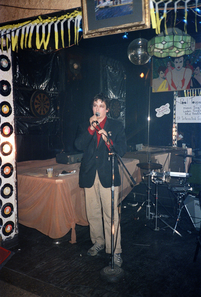 Mountaineer's Club at Vasmay Lounge, NYC, 1986 - 9 of 9