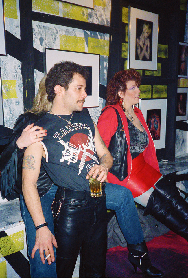 St. Valentine's Bleeding Heart Tattoo Spectacular at Limelight, NYC, 1987 - 9 of 14