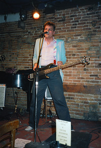 The Rhythm Bandits at the Bitter End, NYC, 1986 - 2 of 4