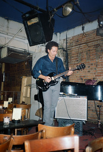 The Rhythm Bandits at the Bitter End, NYC, 1986 - 3 of 4