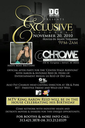 EXCLUSIVE SATURDAY NOV 20, 2010