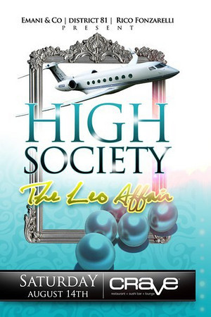 HIGH SOCIETY AUGUST 14, 2010