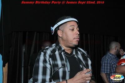 Sammy Birthday Party @ Jamex. Sept 22nd, 2018