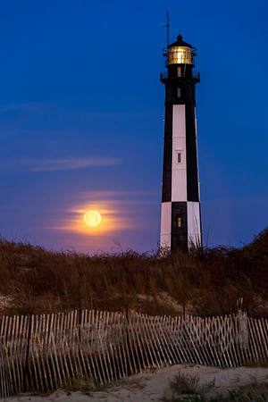 Full Moon At Cape Henry