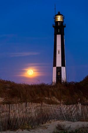 Full Moon At Cape Henry