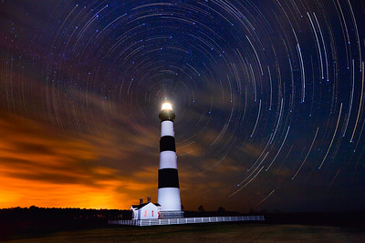 Cloudy With A Chance of Star Trails