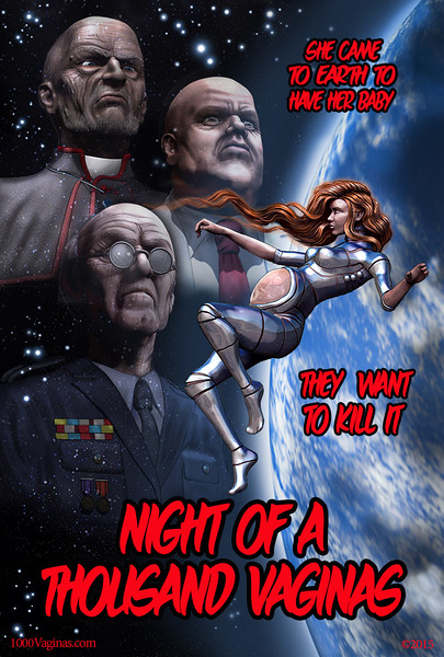 Night Of A Thousand Vaginas Movie Poster